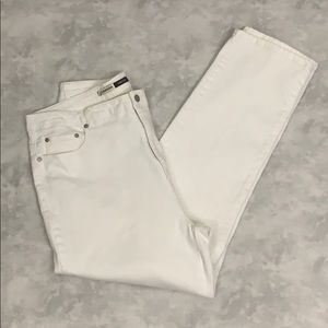 St.John's Bay Stretch White Jeans